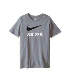 Nike Kids JDI Swoosh Tee (Little Kids/Big Kids) Cool Grey
