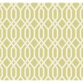 York Wallcoverings 60.75 sq. ft. Ashford Geometrics Garden Pergola Wallpaper GE3681
