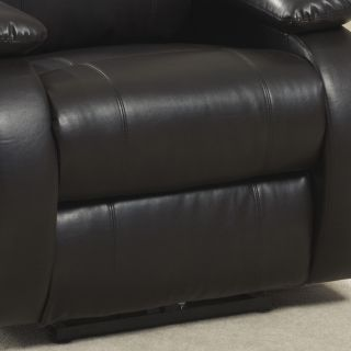 AC Pacific Bonded Leather Reclining Massage Chair
