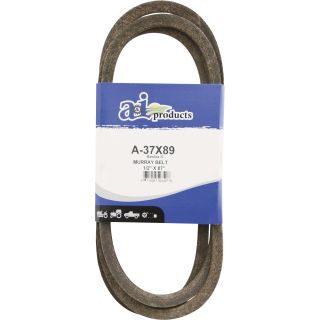 A & I Products Blue Kevlar V-Belt with Kevlar Cord — 87in.L x 1/2in.W, Model# A-37X89  Belts   Pulleys