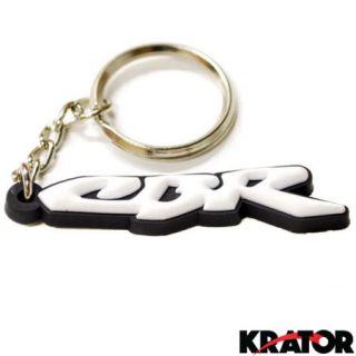 Krator® HONDA CBR 600 900 929 954 1000 RR KEYCHAIN KEY RING FOB LOGO DECAL MOTORCYCLE