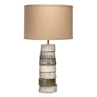 Stacked Horn 27 H Table Lamp with Drum Shade by Jamie Young Company