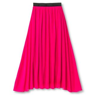 Say What Girls Maxi Skirt   Pink