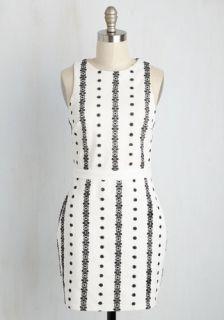 A Flair Assumption Sheath Dress  Mod Retro Vintage Dresses