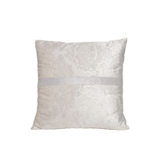 Suede Diamond Square Throw Pillow by Interior Illusions