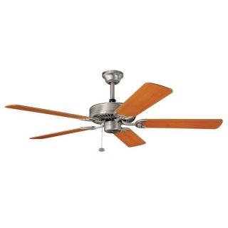 Kichler Lighting Sterling Manor ES Brushed Nickel 52 inch Ceiling Fan
