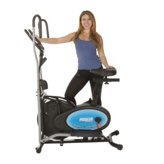 ProGear 400LS 2 in 1 Air Elliptical and Exercise Bike with Heart Pulse
