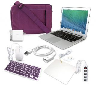 Apple 13 Macbook Air Laptop Intel i5 4GB RAM w/ Accessories —