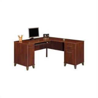 "Bush Somerset 60"" L Shaped Computer Desk, Multiple Finishes"
