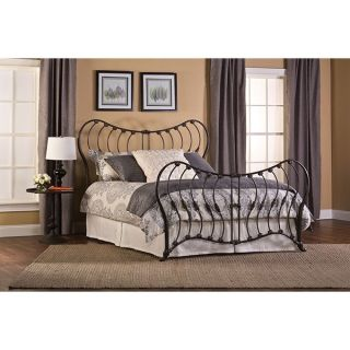 Hillsdale Furniture 1303 660 Bennington King Bed Set in Rustic Pewter   Rails Not Included
