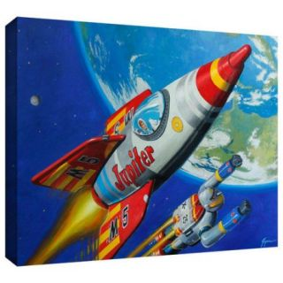 ArtWall 'Spacepatrol2' by Eric Joyner Graphic Art on Wrapped Canvas