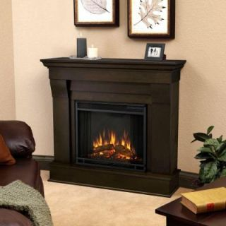 Real Flame Chateau 41 in. Electric Fireplace in Dark Walnut 5910E DW