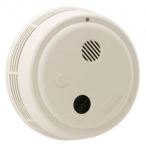Gentex 9120 Smoke Alarm, 120V AC Photoelectric w/ Battery Backup & Solid State Sounder
