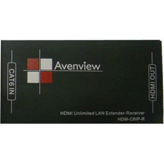 Avenview HDMI Unlimited LAN Receiver over Single CAT6 HDM C6IP R