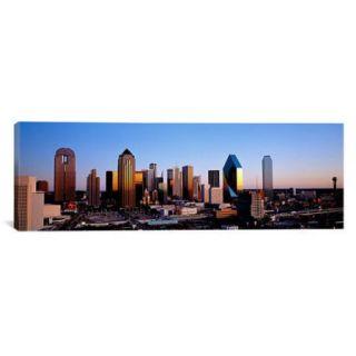 iCanvas Panoramic 'Texas, Dallas, Sunrise' Photographic Print on Canvas