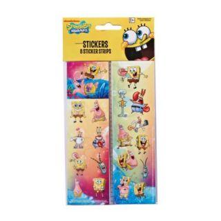 SpongeBob SquarePants Sticker Sheets, 8 Count, Party Supplies