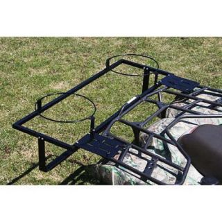 Atv Bucket Crate Carrier Rack 4 Wheeler Storage Basket
