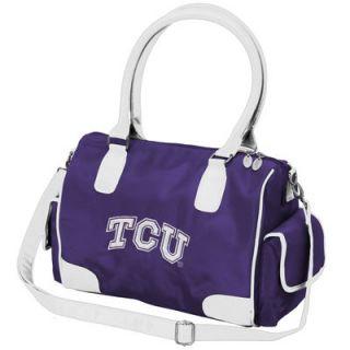 TCU Horned Frogs Womens Deluxe Handbag Purse