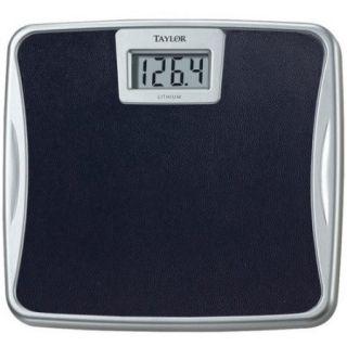 Taylor 391222 Silver Platform Lithium Electronic Digital Scale