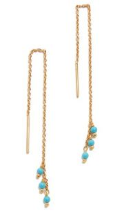 Gorjana Lagoon Thread Earrings
