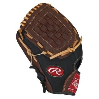 Rawlings Player Preferred 12 inch Baseball or Softball Glove with Fin