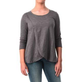 Neon Buddha Blackbird Cotton Flared Shirt (For Women) 51