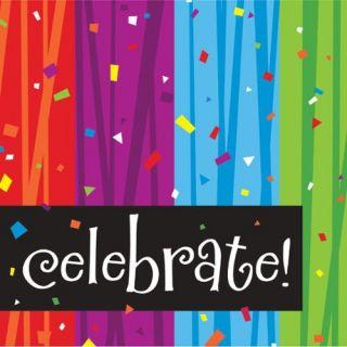"Club Pack of 192 Milestone Celebrations Premium 3 Ply Disposable Party Beverage Napkins 5"""