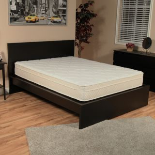 NuForm Quilted Euro Top 9 inch Twin size Foam Mattress   16146360