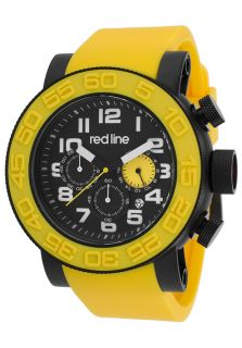 Xlerator Chronograph Yellow Silicone Black Dial and IP SS