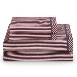 Tommy Hilfiger Cornwall 180 Thread Count 3 Piece Sheet Set