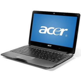 "Acer Diamond Black 11.6"" Aspire One 722 BZ197 Laptop PC with AMD Dual Core C 50 Processor and Windows 7 Home Premium"