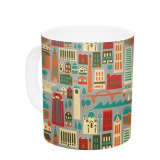 My Fair Milwaukee by Allison Beilke 11 oz. City Ceramic Coffee Mug by