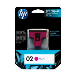 HP 02 Original Ink Cartridge Pink C8772WN#140