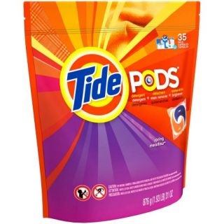 Tide PODS Spring Meadow Scent Laundry Detergent, 35 Loads, 35 count