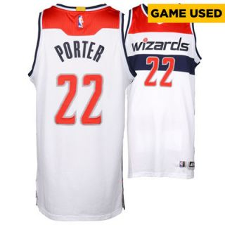 Otto Porter Jr. Washington Wizards  Authentic Game 3 Win vs. Toronto Raptors White Game Used Jersey (11 points and 8 rebounds)