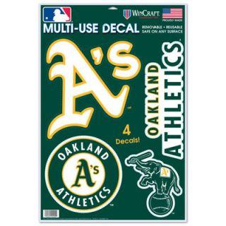 WinCraft Oakland Athletics 11 x 17 Multi Use Decal