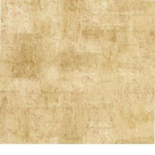 The Wallpaper Company 8 in. x 10 in. Red and Beige Script Wallpaper Sample DISCONTINUED WC1281303S