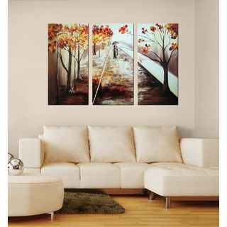 Rickey Lewis Talking Trees Gallery wrapped Canvas Art   12980358