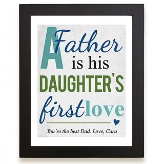 Personal Creations Personalized First Memories of Father Print   Love   7830908