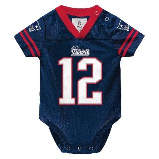 New England Patriots Toddler/Infant Jersey Body Suit