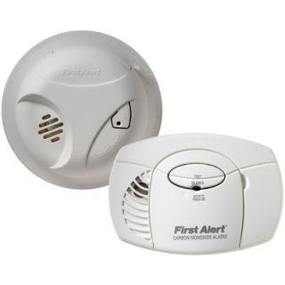 First Alert Smoke Alarm and Carbon Monoxide Detector