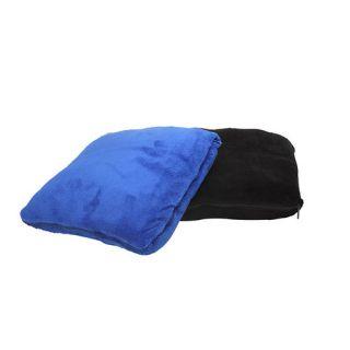 TrailWorthy Zip Up Pillow Coral Fleece Blanket