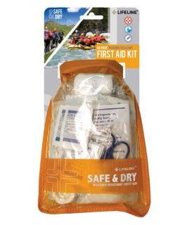 Lifeline Safe and Dry Weather Resistant First Aid Kit   98 Pieces   First Aid Kits