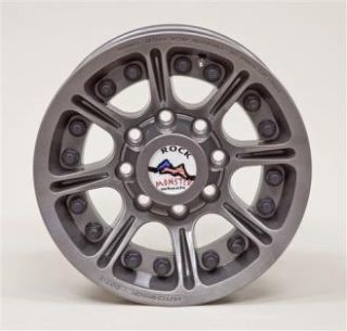 Hutchinson Wheels   Hutchinson D.O.T. Beadlock, 17x8.5 with 8 on 6.5 Bolt Pattern   Argent