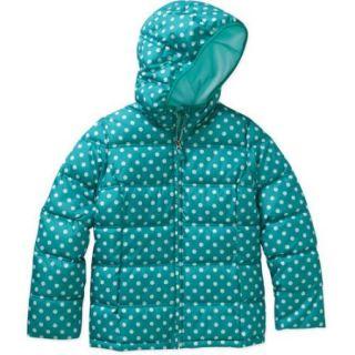 Faded Glory Girls' Puffer Bubble Jacket