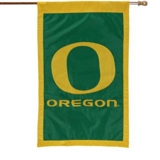 Oregon Ducks Green 28 x 44 Team Logo Applique Flag