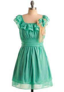 Seafoam of Affection Dress  Mod Retro Vintage Dresses