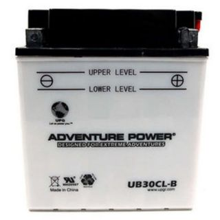 UPG 42543 UB30CL B, Conventional Power Sports Battery