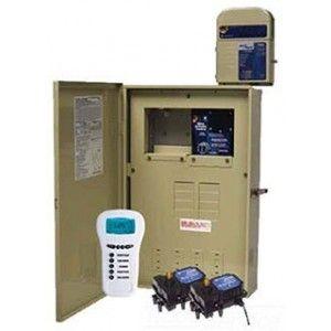 Intermatic PE34065RCT3 Timer Kit, 80A Outdoor Enclosure w/Z Wave Controller, Valve Actuator Control, 2 Valve Actuators, & 300W Transformer