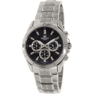 Casio Mens EF527D 1AV Edifice Stainless Steel Multi Function Watch
